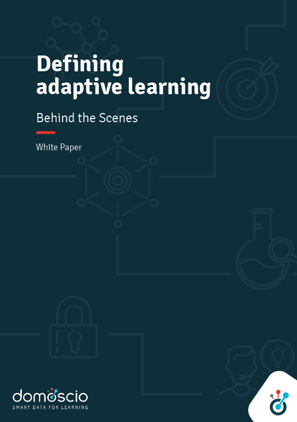White paper - Defining Adaptive Learning, behind the scenes