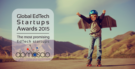 Domoscio is finalist of the Global Edtech Startups Awards 2015