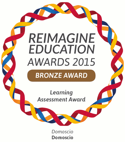 Domoscio awarded by Reimagine Education 2015