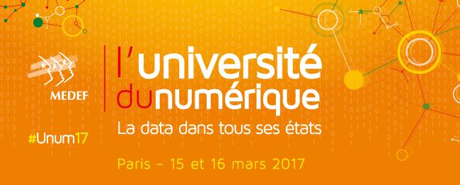L'Université du numérique du MEDEF : la data dans tous ses états !